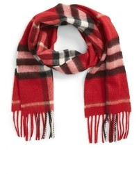 Burberry Giant Check Cashmere Scarf