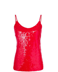 P.A.R.O.S.H. Sequined Cami Top