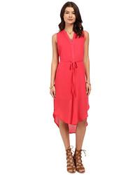 BB Dakota Alesha Viscose Button Front Shift Dress