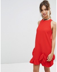 Asos Collection Extreme Frill Shift Dress