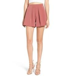 Leith Pleated High Waist Shorts