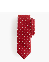 J.Crew Silk Oxford Tie In Dot