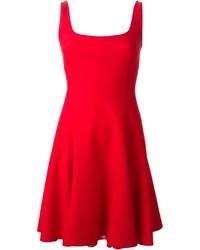 Ralph Lauren Black Halee Flared Dress