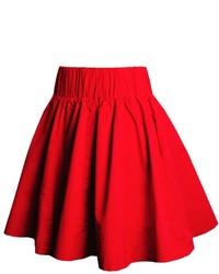 Red skater skirt original 1483215