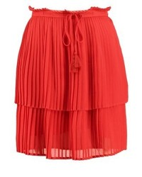 A line skirt chinese red medium 3933536