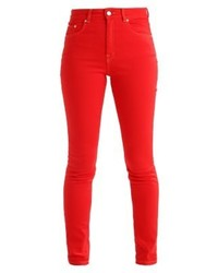 Marilyn slim fit jeans chinese red medium 4243024