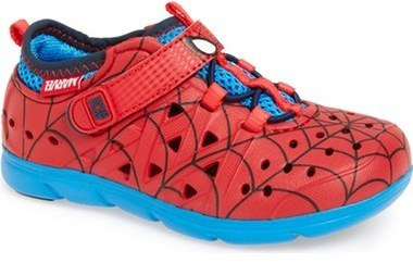 Stride Rite Infant Boys Made2play Phibian Spiderman Sneaker