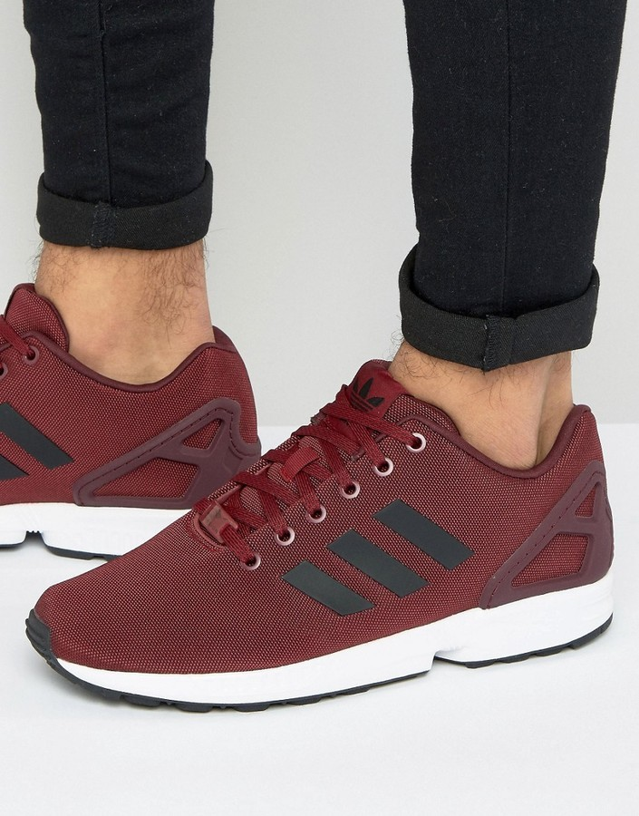 db4f4dadee8 adidas Originals Zx Flux Sneakers In Red Bb2172, £49 | Asos ...