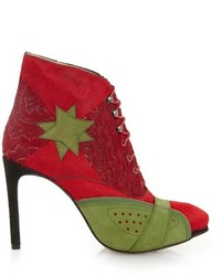 Preen by Thornton Bregazzi Shelly Calf Hair And Leather Ankle Boots