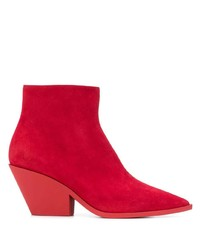 Casadei Zip Fastening Ankle Boots