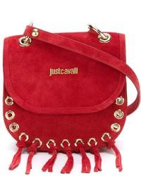 Just Cavalli Fringed Cross Body Bag