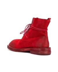 Marsèll Lace Up Combat Boots