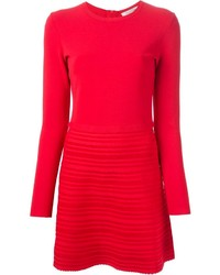 Valentino Flared Sweater Dress