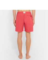 c3dc283eb0701 Faherty Beacon Mid Length Swim Shorts, £78 | MR PORTER | Lookastic UK
