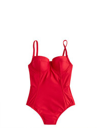 J.Crew Demi Underwire One Piece Swimsuit