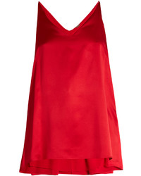 ADAM by Adam Lippes Adam Lippes Step Hem Silk Satin Cami Top