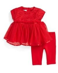 Infant Girls Pippa Julie Tulle Dress Leggings Set