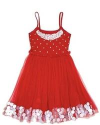 Toddler Girls Masalababy Scarlet Ballerina Dress