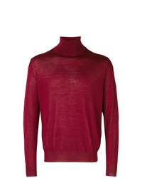 Canali Roll Neck Fitted Sweater
