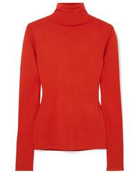Joseph Silk Blend Turtleneck Sweater