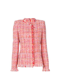 Alexander McQueen Embroidered Fitted Jacket