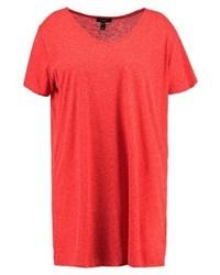New Look Boyfriend Basic T Shirt Red