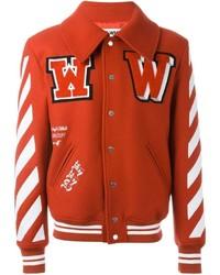Red Varsity Jacket