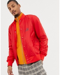 Love Moschino Back Print Lightweight Bomber Jacket