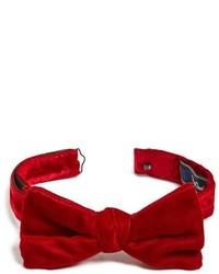 Velvet bow tie medium 601547