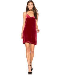 Red Velvet Cami Dress