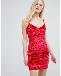 Crushed velvet cami dress medium 3735909