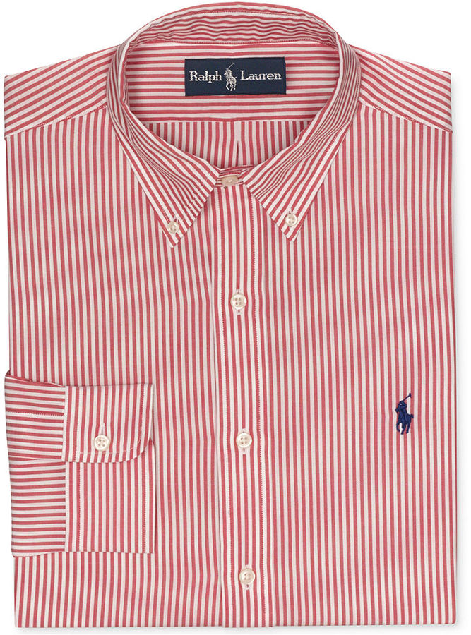 c753689d2 official mens ralph lauren polo polo yellow stripes long sleeved 428ce  07e61  promo code for red and white stripe dress shirt. red vertical  striped dress ...