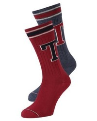 Tommy Hilfiger Patch 2 Pack Socks Jeans