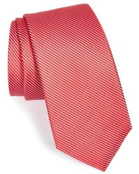 Calibrate ac milan stripe silk tie medium 161783