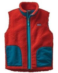 Patagonia Girls Retro X Windproof Fleece Vest