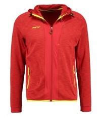 Kitchener outdoor jacket melange fiery red medium 3832832