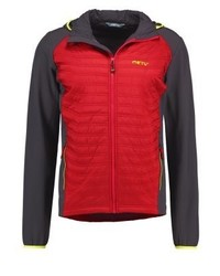 Qubec outdoor jacket fiery redslate medium 4171102