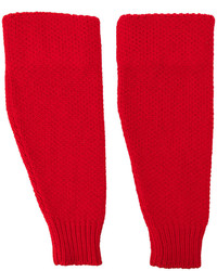 Red Wool Gloves