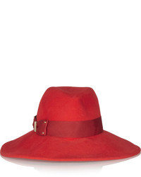Emmanuelle rabbit felt wide brim fedora medium 11854