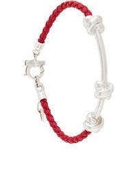 Salvatore Ferragamo Woven Knot Bracelet