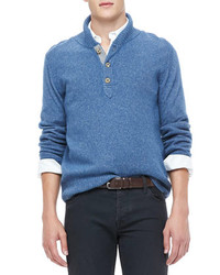 Shawl-Neck Sweater