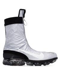Nike Grey And Black Air Vapormax Ispa Gator Sneakers