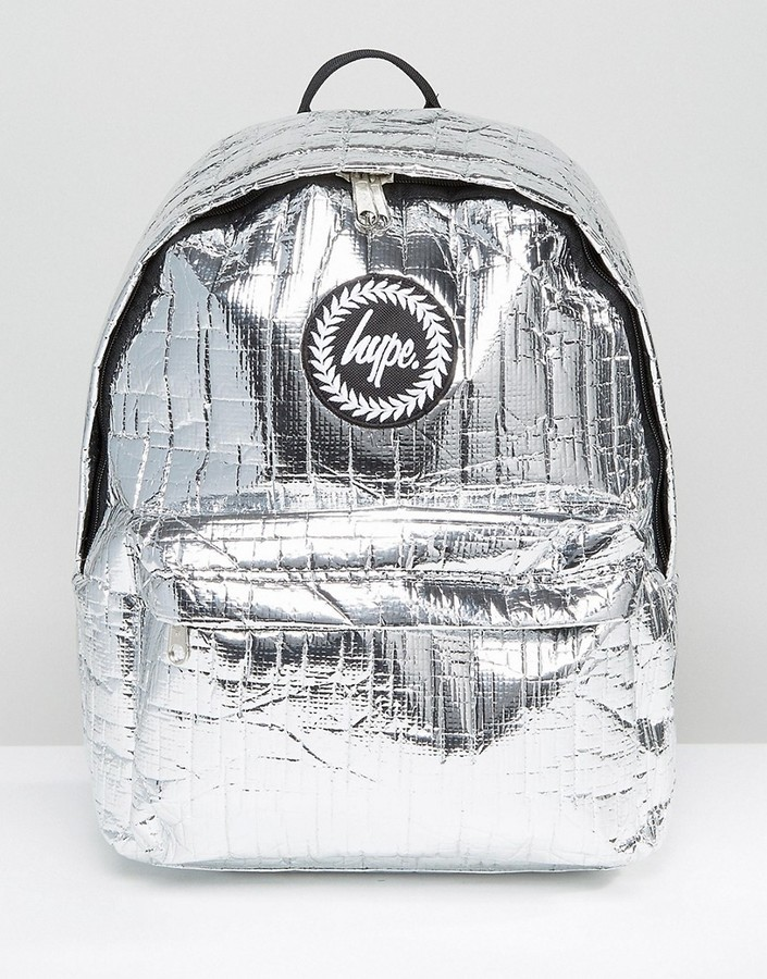 411daf3ce18d ... Hype Space Thermal Silver Backpack ...