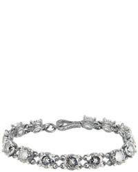 Bottega Veneta Cubic Zirconia And Silver Bracelet