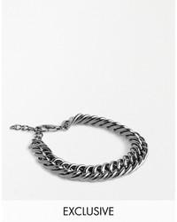 Asos Designsix Chain Bracelet To