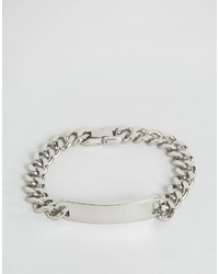 Seven London Id Chain Bracelet In Silver To Asos