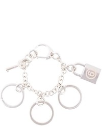 MM6 MAISON MARGIELA Lock And Key Chain Bracelet