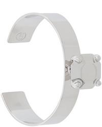 MM6 MAISON MARGIELA Stone Look Cuff Bangle Bracelet