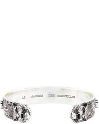 Gucci Tiger Head Zirconium Bracelet