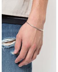 Werkstatt:Munchen Werkstattmnchen Bangle Hook Hammered Bracelet